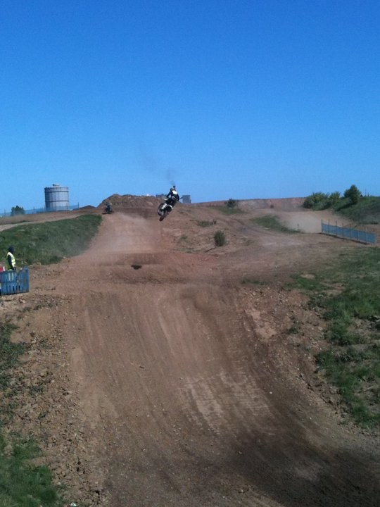 South Tees Motocross Track, click to close